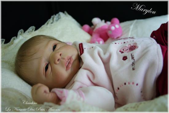 Marylou du kit Michelle de Evelina Wosnjuk adoptee sur ebay UK
